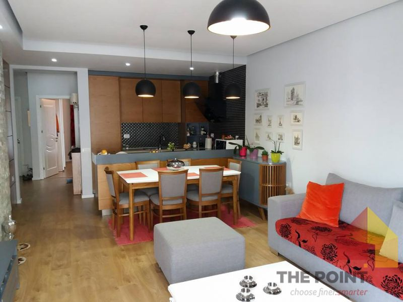 Apartment 2+1 for sale at Liqeni Thate