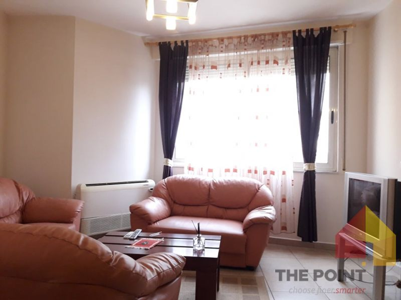 For rent 2 + 1 apartment near Dibra Str
