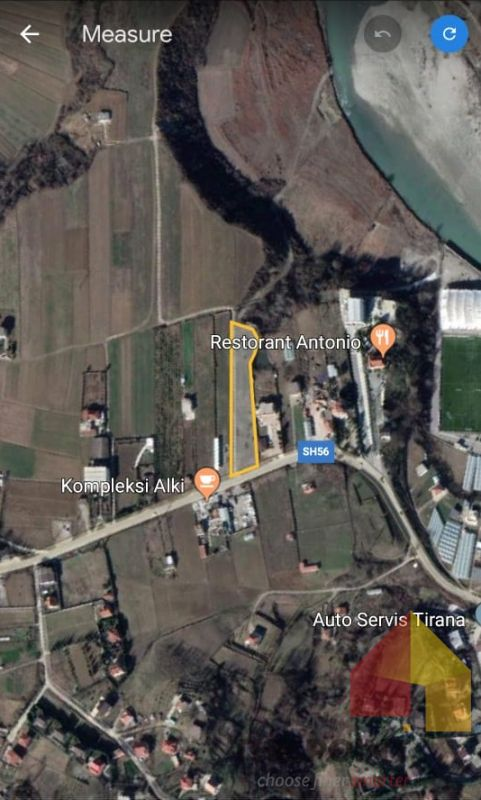 Laqnd for sale 10 km from Center of Tirana