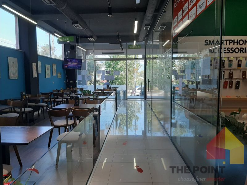 Coffee bar for rent at Liqeni Thate.